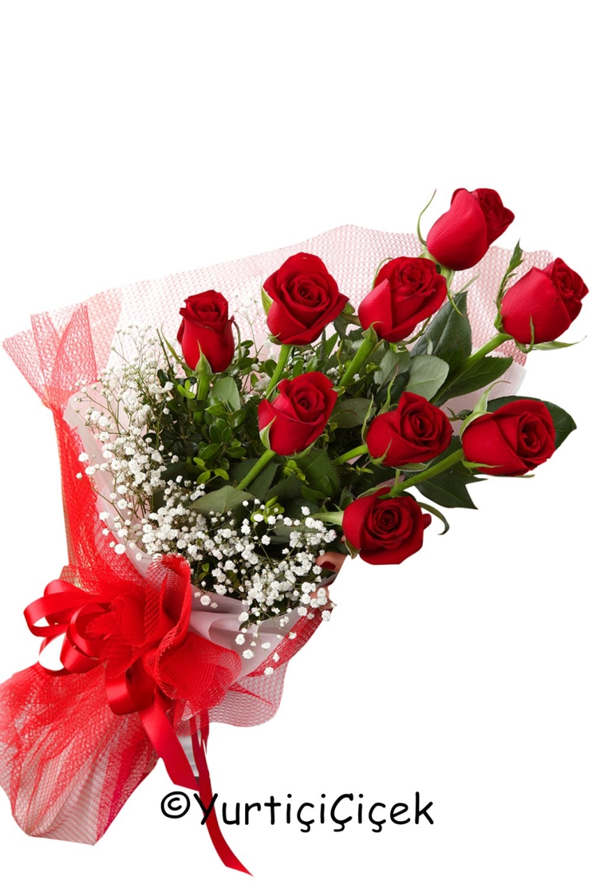 Red Roses 9 Piece Words Of Love Dumped Her Name Duymanzla Your